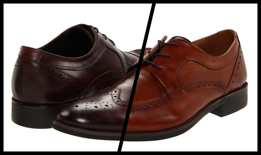 Tan Shoes With A Brown Suit