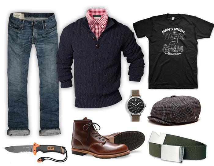 What To Wear Man S Night Buffalo Dandy