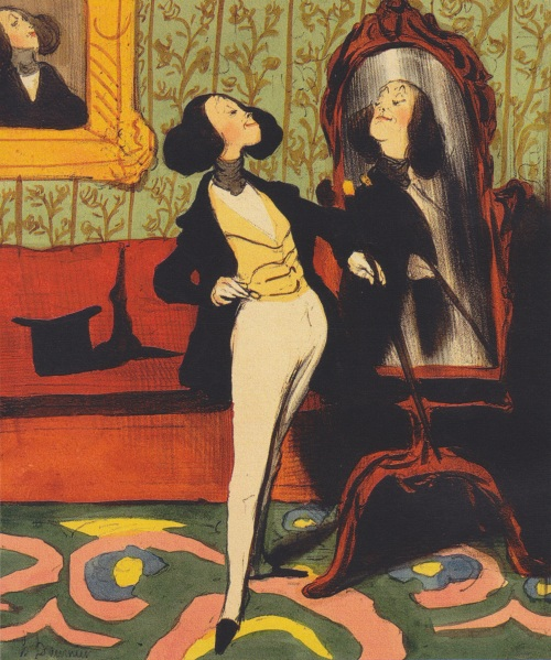 Honoré_Daumier_-_Dandy