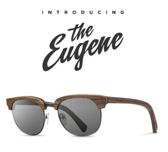 The Eugene by Shwood Eyewear Buffalo Dandy