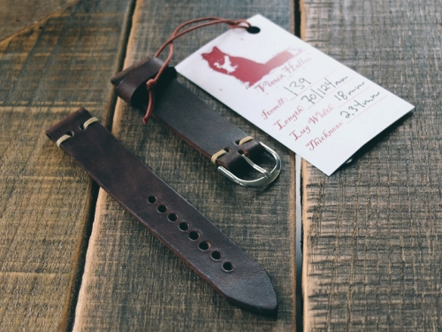 Vieux-Halloo-Watch-Strap-Red-Clay-Soul