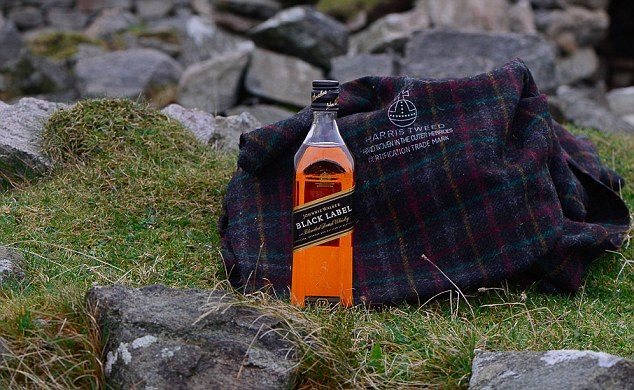 Image result for Harris Tweed Hebrides x Johnnie Walker