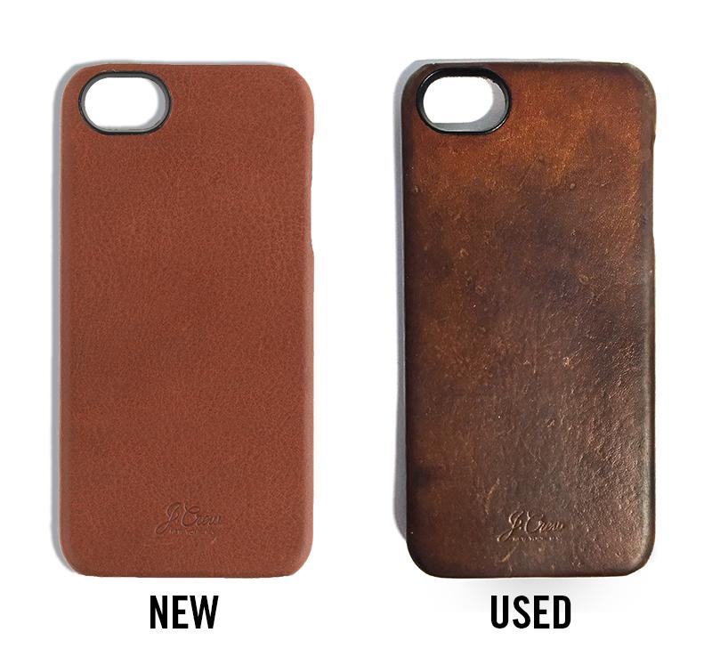 Buffalo Leather Iphone Case