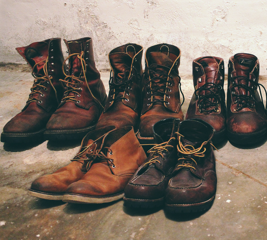 my favorite things red wing boots buffalo dandy. Black Bedroom Furniture Sets. Home Design Ideas