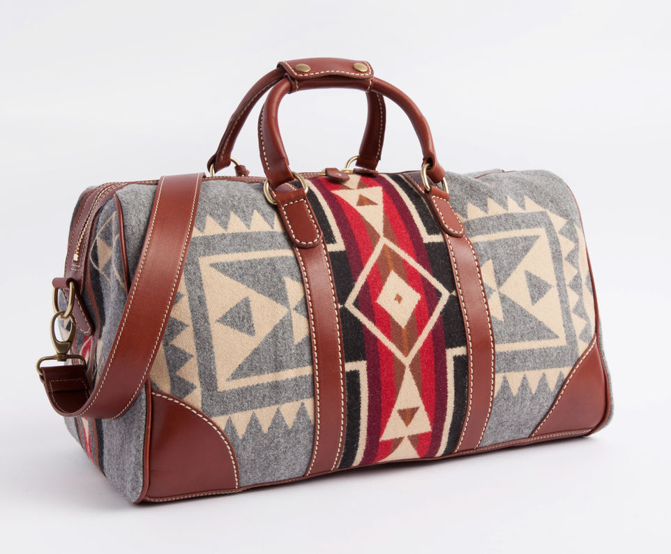 bb24a9022d45 Roots x Pendleton Weekender Bag